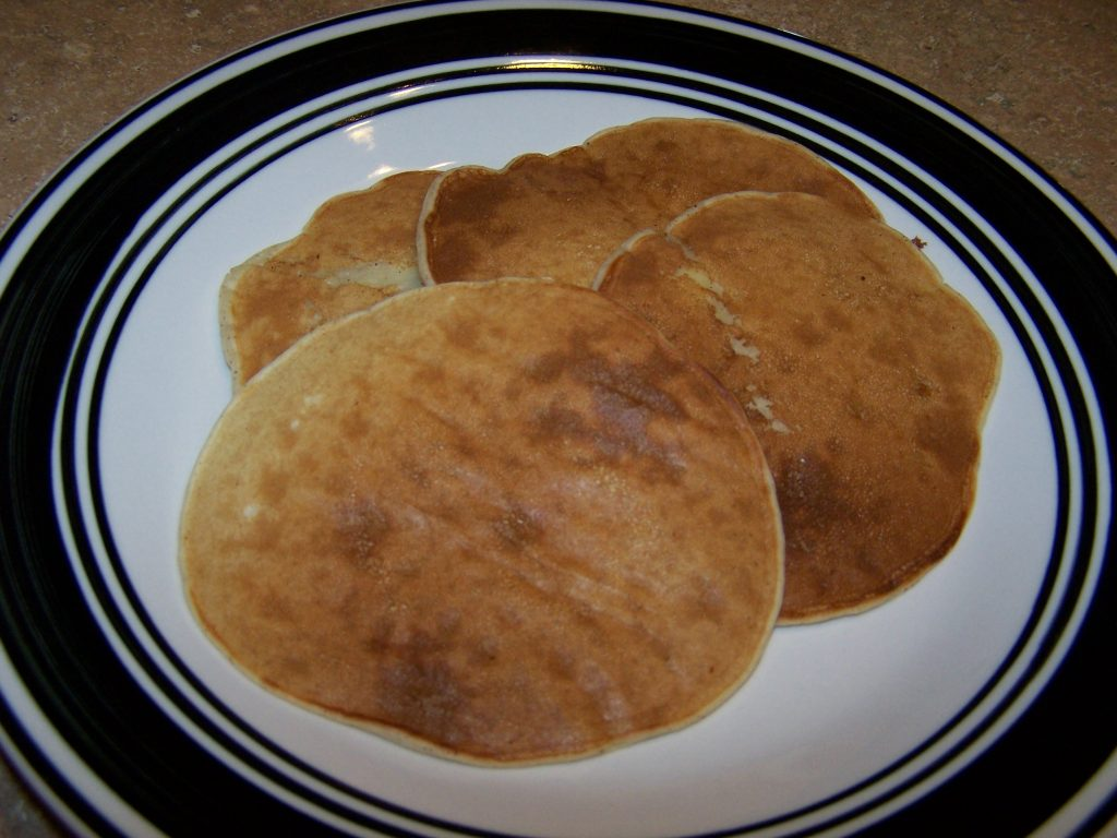 Banana Pancakes 1