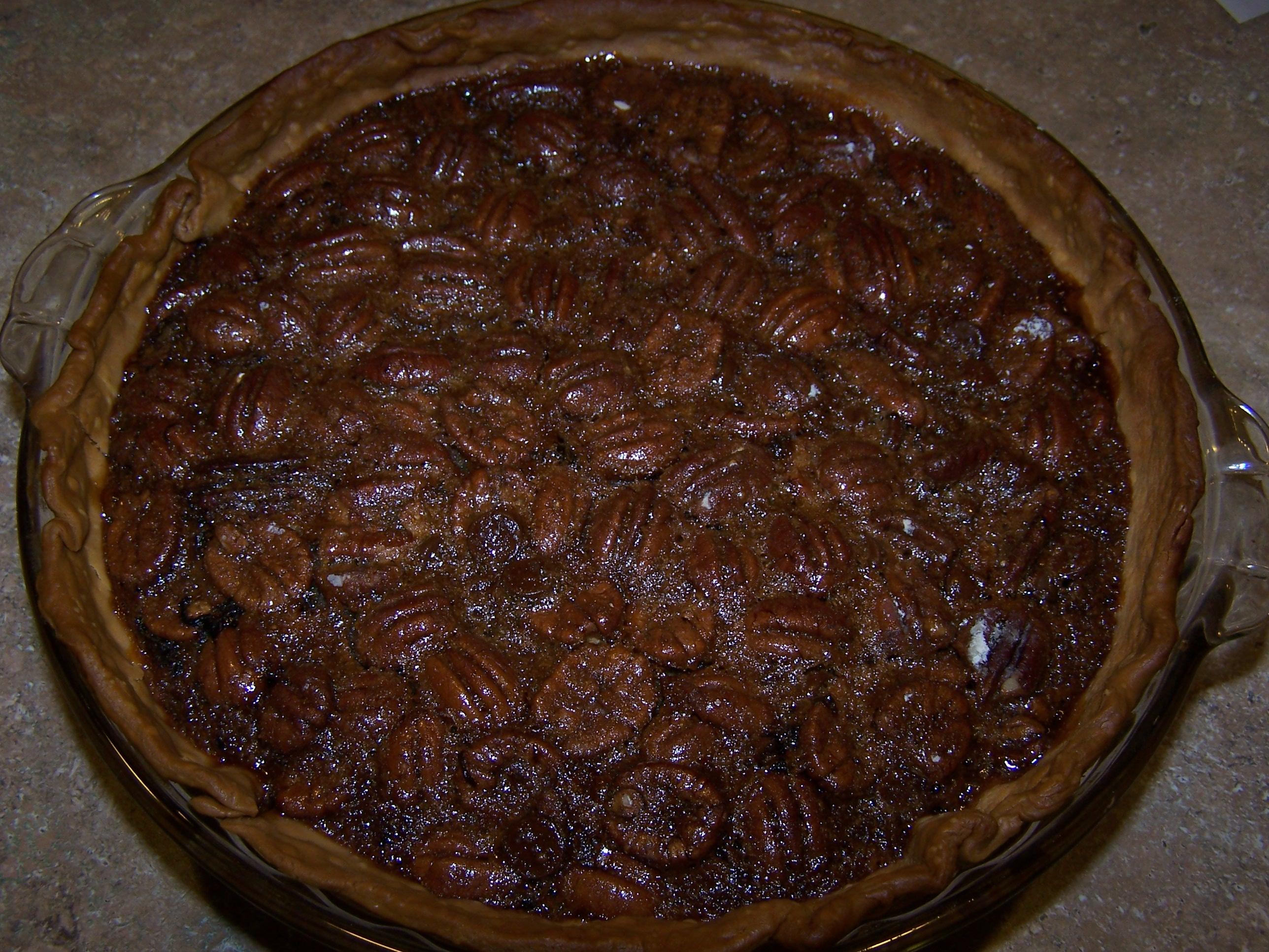 Pecan Chocolate Chip Pie 1
