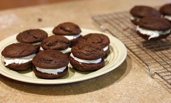 Moon pie cookies