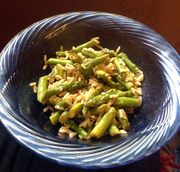 Asparagus-Stirfry
