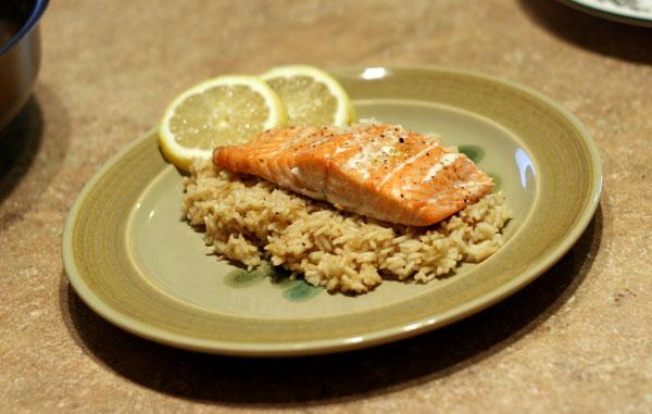 salmon-risotto