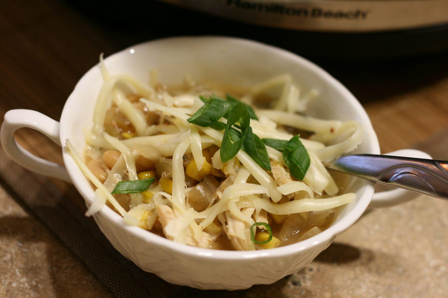 slow cooker white chili