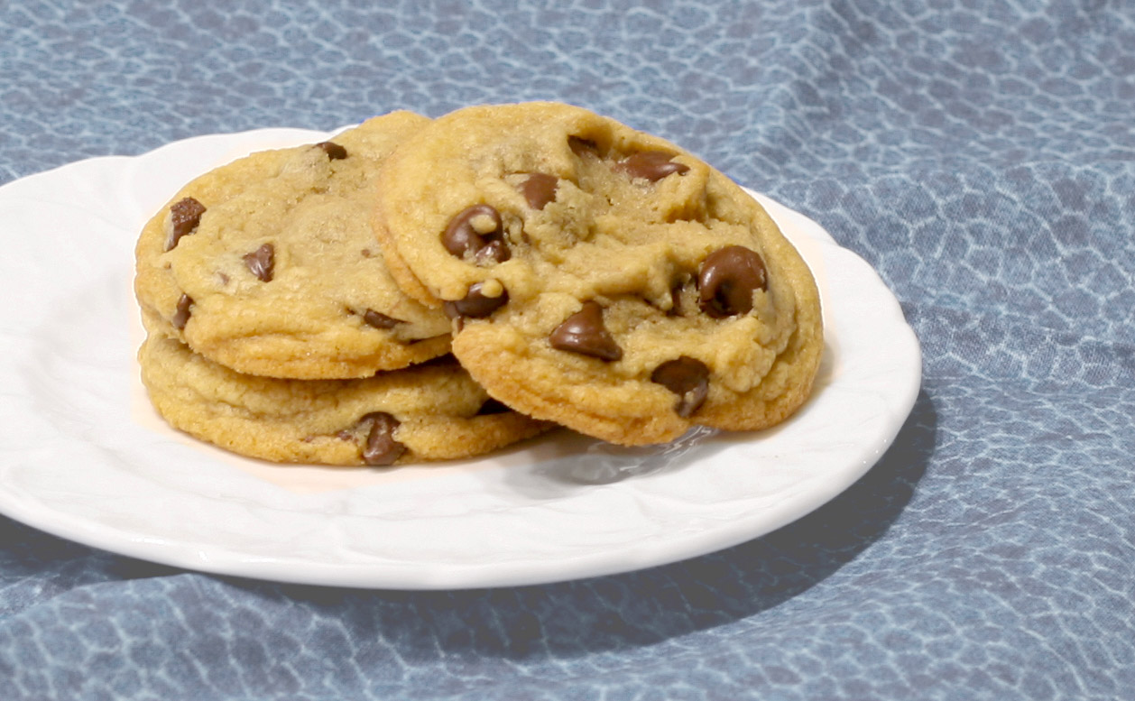 cookies, easy, chewy, soft, recipe, chewy chocolate chip cookies