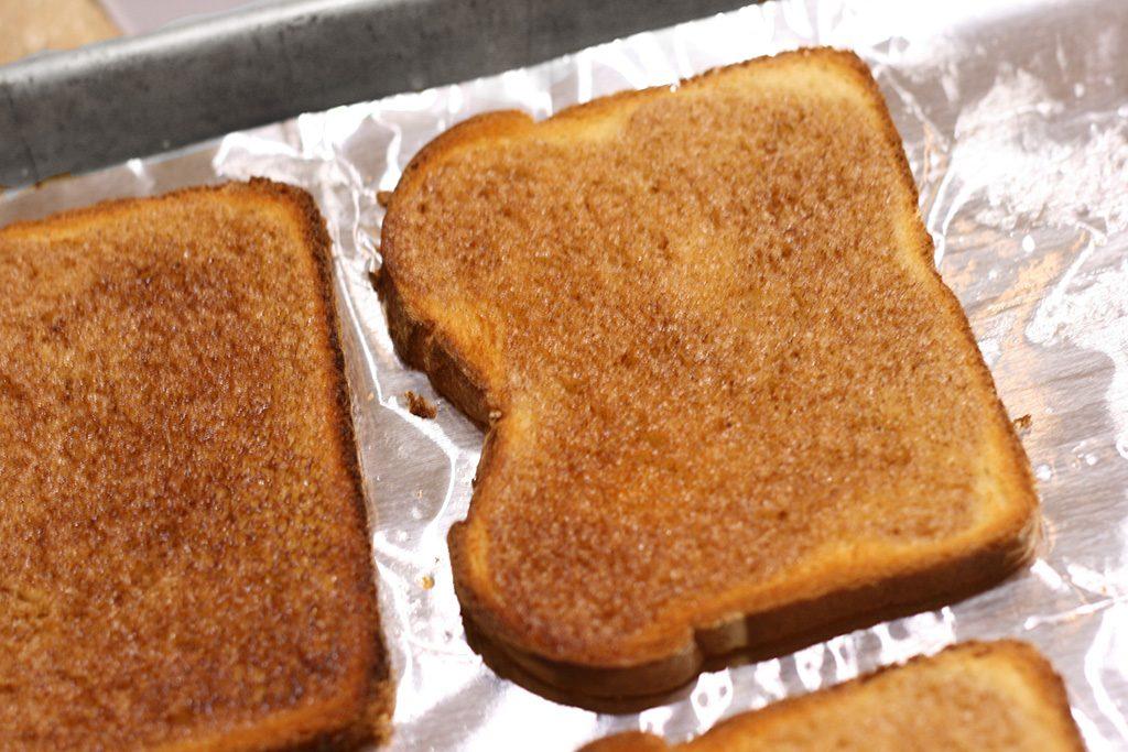 toasted maple cinnamon toast