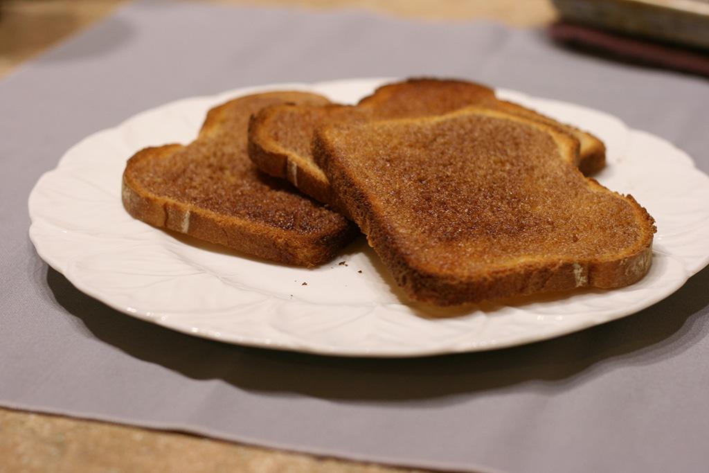 stack of maple cinnamon toast