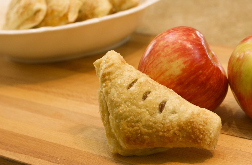 Apple Turnover with a Honeycrisp Apple