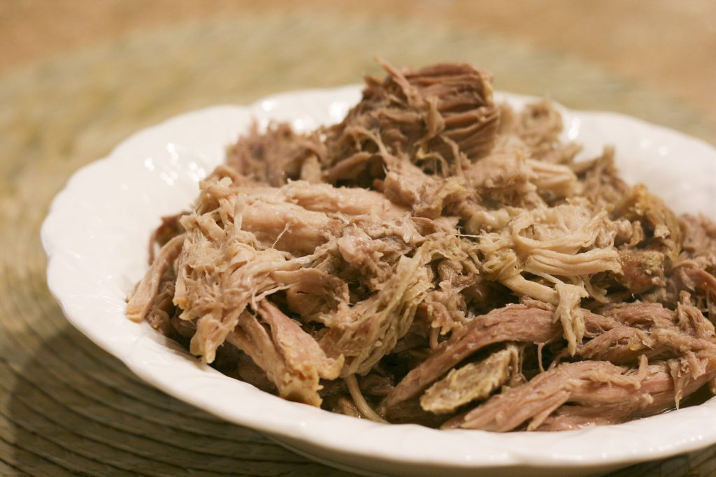 Kalua Pork in a bowl