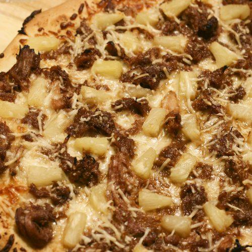 kalua pork pizza