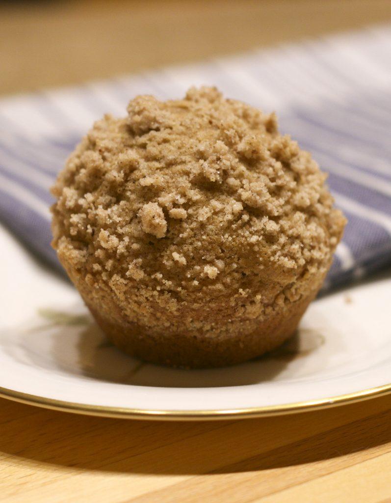 pumpkin spice latte muffin
